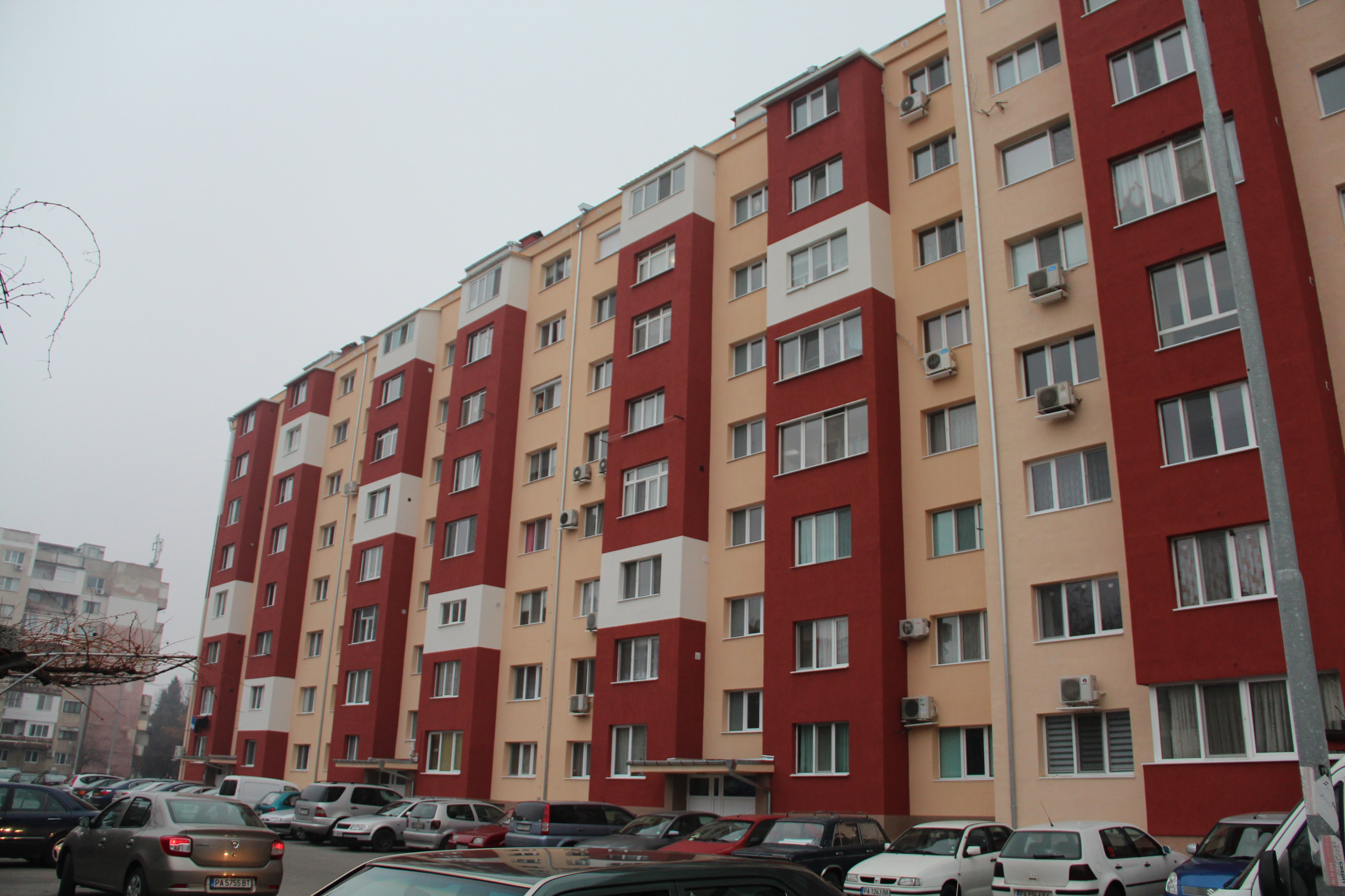Саниране на Многофамилна жилищна сграда в гр.Пазарджик ул.Панайот Волов 20,22,24