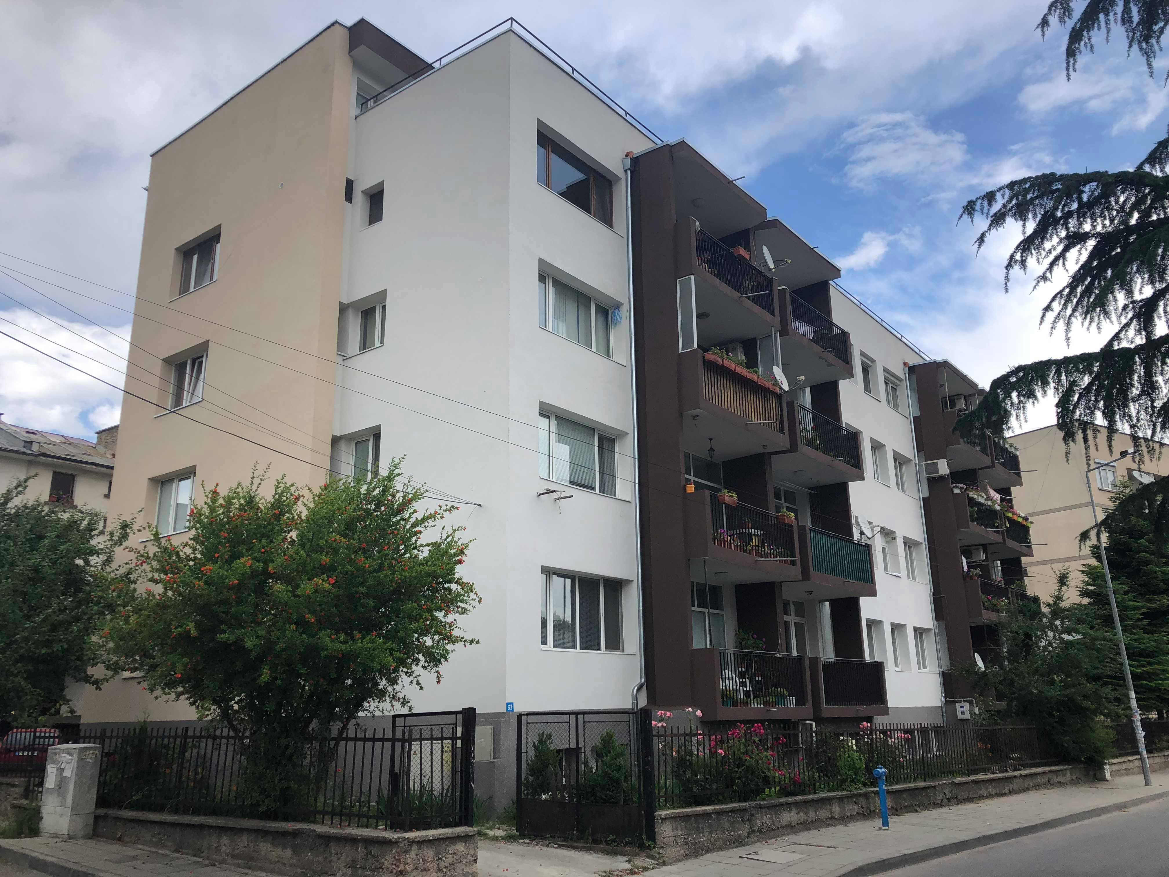 Саниране на Многофамилна жилищна сграда в гр.Пещера ул.Георги Зафиров 33-35
